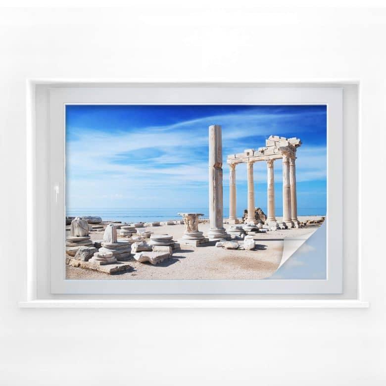 Sichtschutzfolie Ruinen der Antike