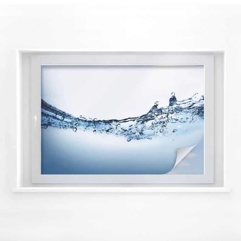 Sichtschutzfolie Water Flow