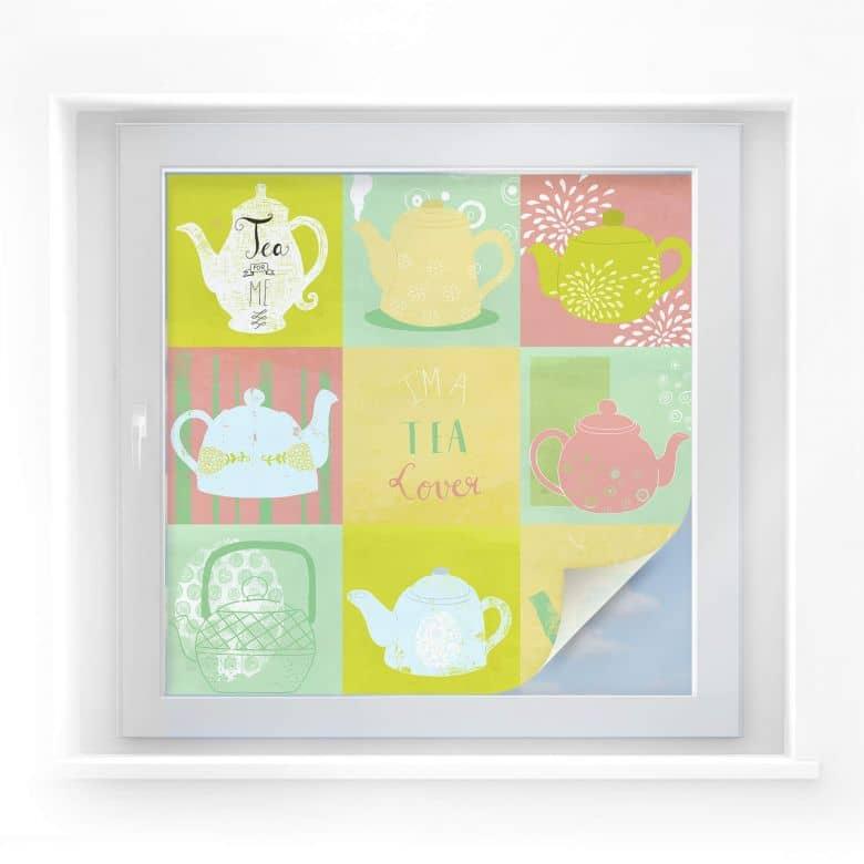 Window foil Loske – Tea Time
