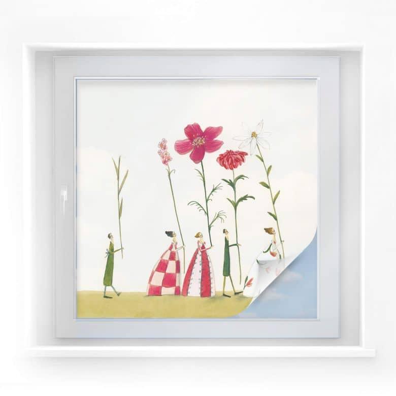 Sichtschutzfolie Leffler - Blumenträger