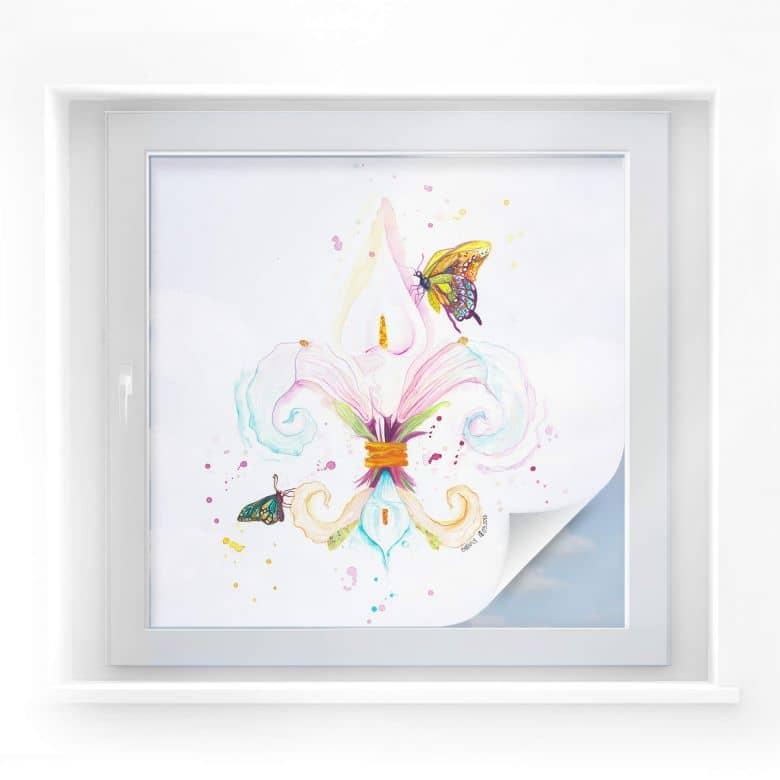 Sichtschutzfolie Buttafly - Fleur de Lil