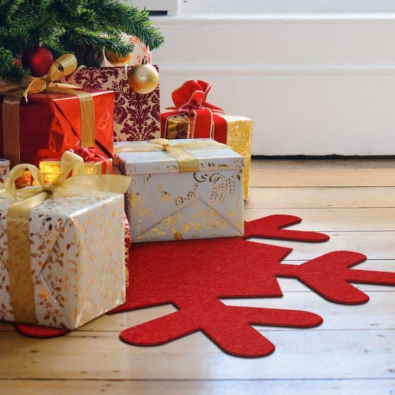 Weihnachtsbaumdecke - Schneeflocke