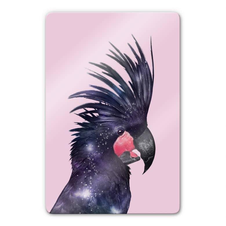 Glasbild Loose - Galaxy Bird
