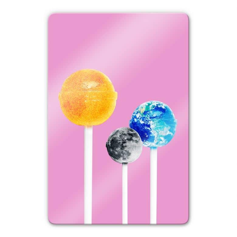 Glasbild Loose - Lollipops