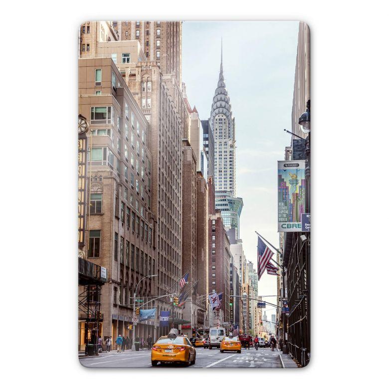 Glasbild Colombo - Chrysler Building in New York