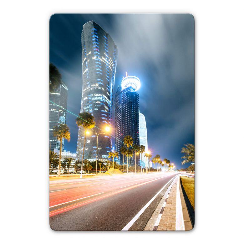 Glasbild Colombo - Qatar - Doha