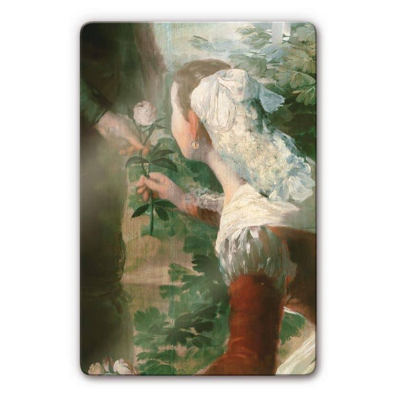 Glasbild de Goya - Der Frühling
