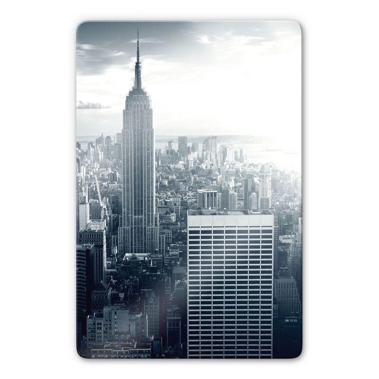 Glasbild The Empire State Building