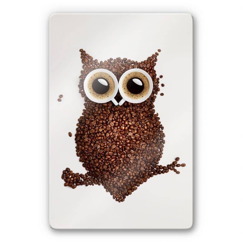 Una civetta di caffè