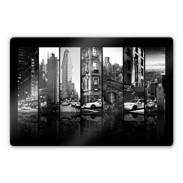 Glasbild Hugonnard - New York Scenes
