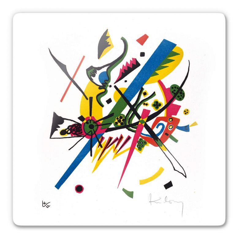 Glasbild Kandinsky - Kleine Welten 1