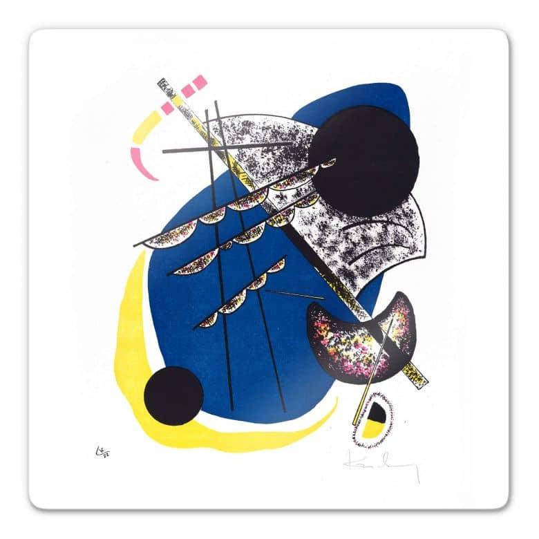 Glasbild Kandinsky - Kleine Welten 2