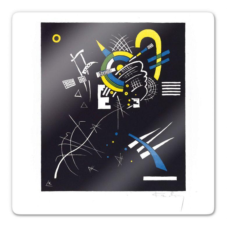Glasbild Kandinsky - Kleine Welten 7