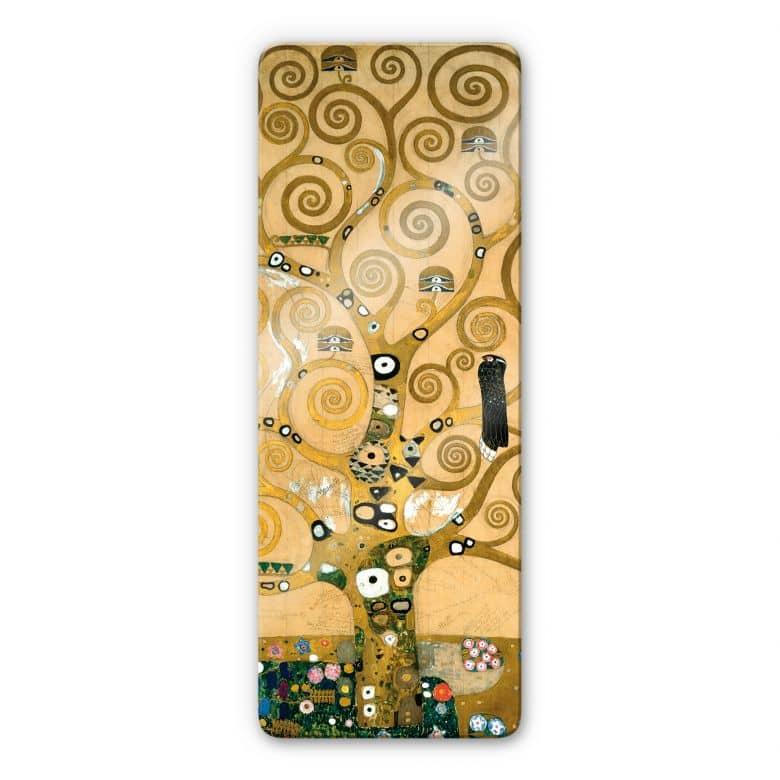 Glasbild Klimt - Der Lebensbaum