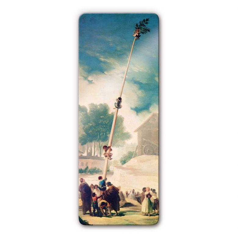 Glasbild de Goya - Der Maibaum