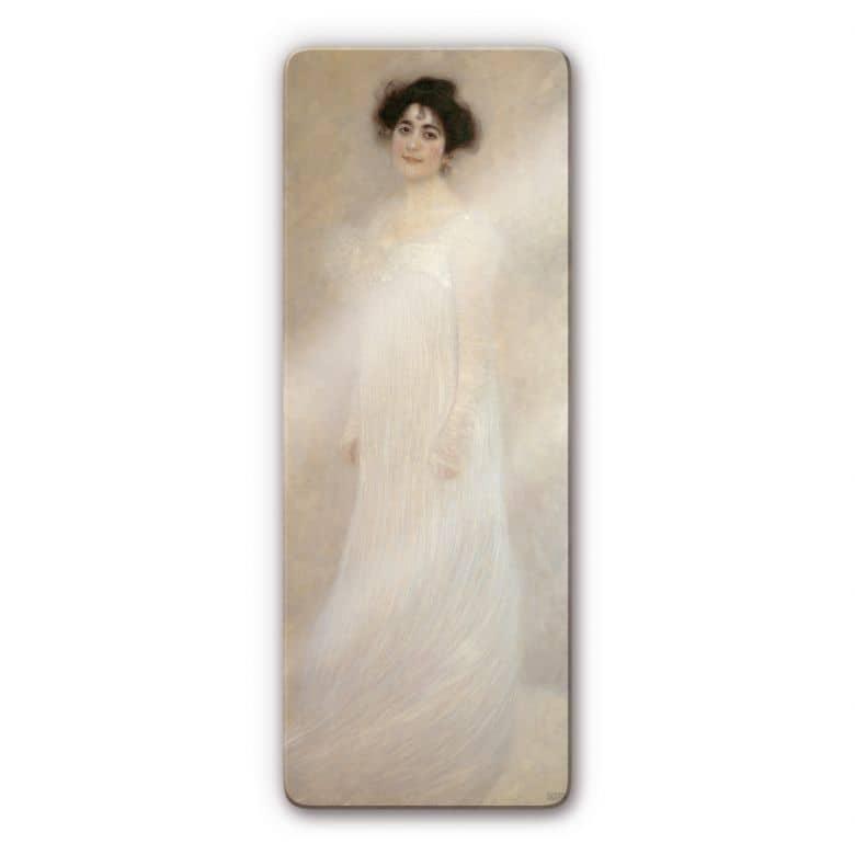 Gustav Klimt - Portrait of Serena Lederer Glass art