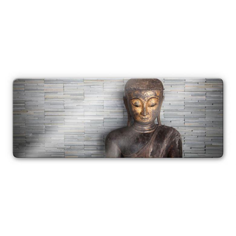 Buddha tailandese - panoramica orizzontale