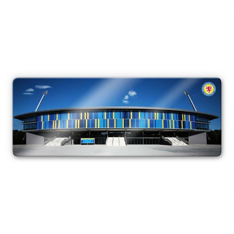 Glasbild Eintracht Braunschweig Stadion - Panorama