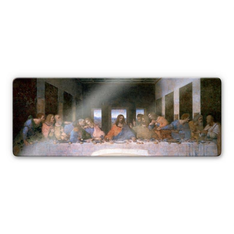 Glasbild da Vinci - Das letzte Abendmahl