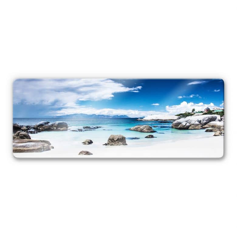 Western Cape Glass print - panorama