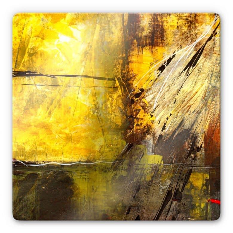 Glasbild Niksic - Stachel des Lebens