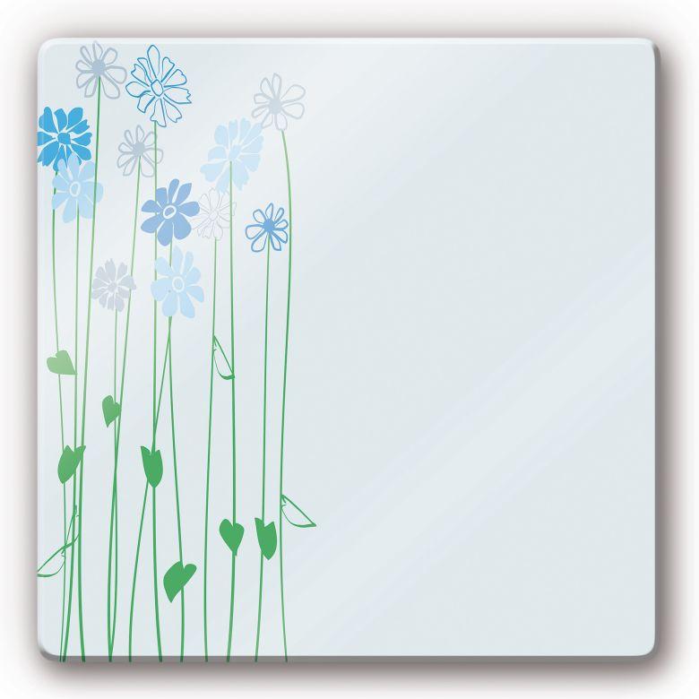 Glasbild Floray