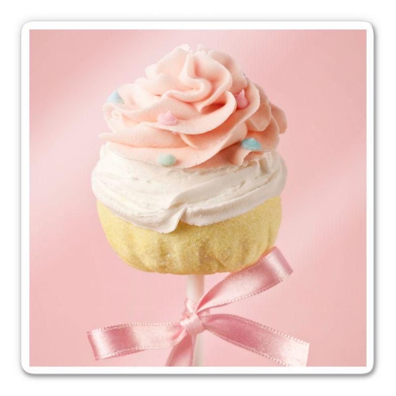 Glasbild Lovely Cakepop - quadratisch