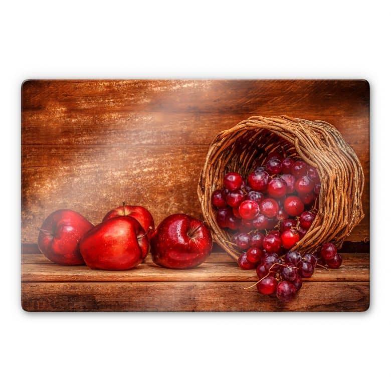 Glasbild Perfoncio - Rote Früchte