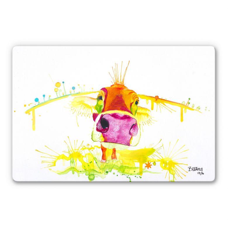 Glasbild Buttafly - Crazy Calf