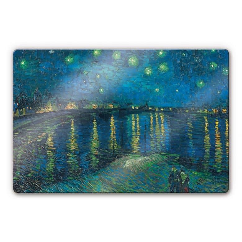 van Gogh - Starry Night 1888 Glass art