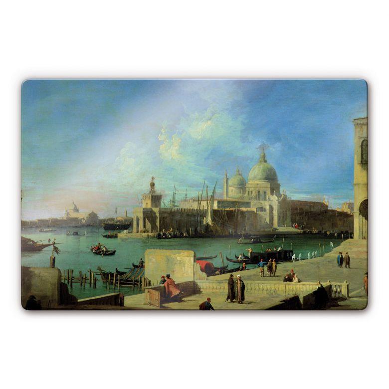 Glasbild Canaletto - Santa Maria della Salute