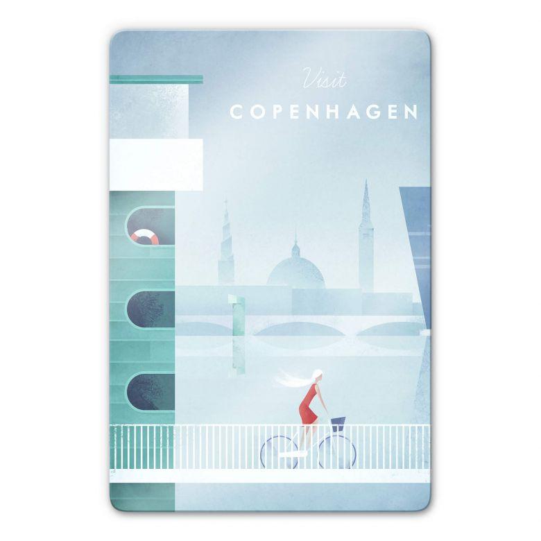 Glasbild Rivers - Kopenhagen