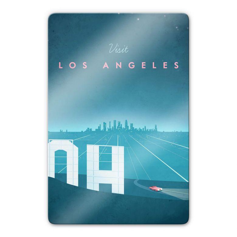 Glasbild Rivers - Los Angeles