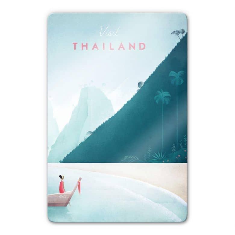 Glasbild Rivers - Thailand