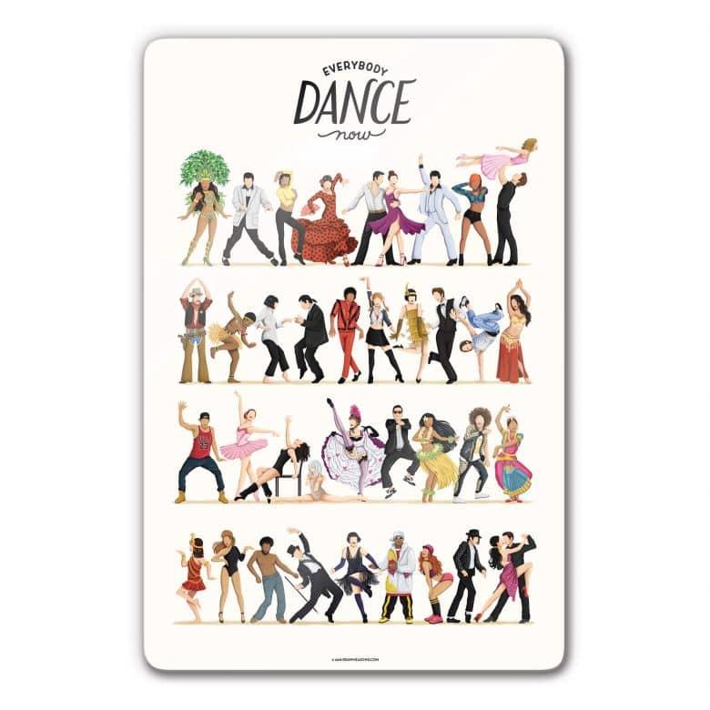 Glasbild Tohmé - Dance Final