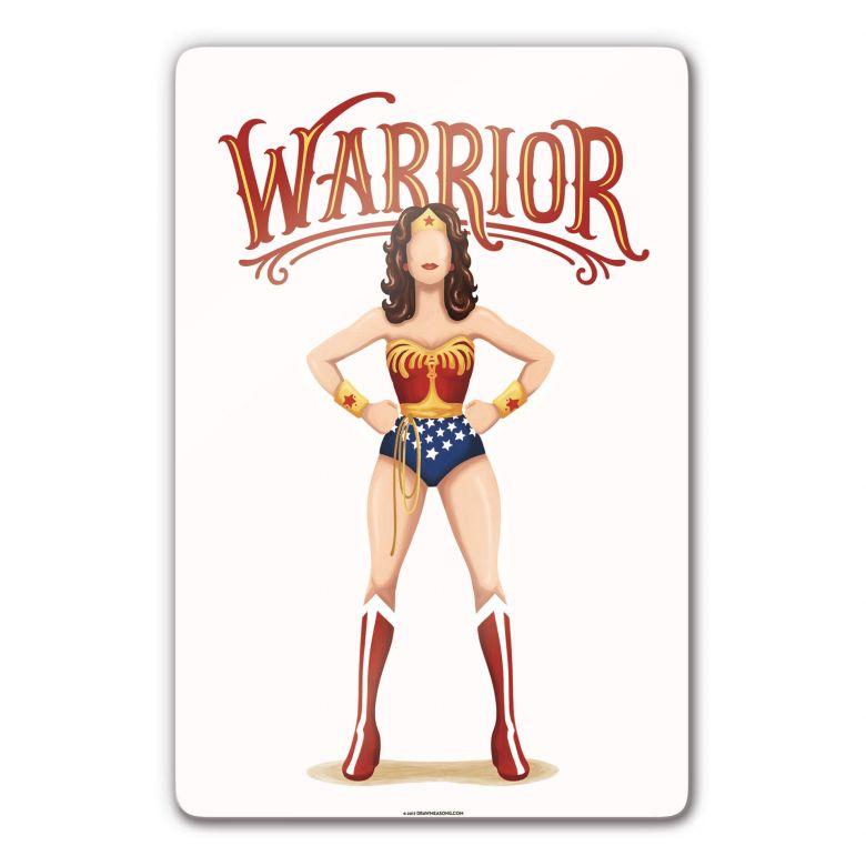Glasbild Tohmé - Wonderwoman
