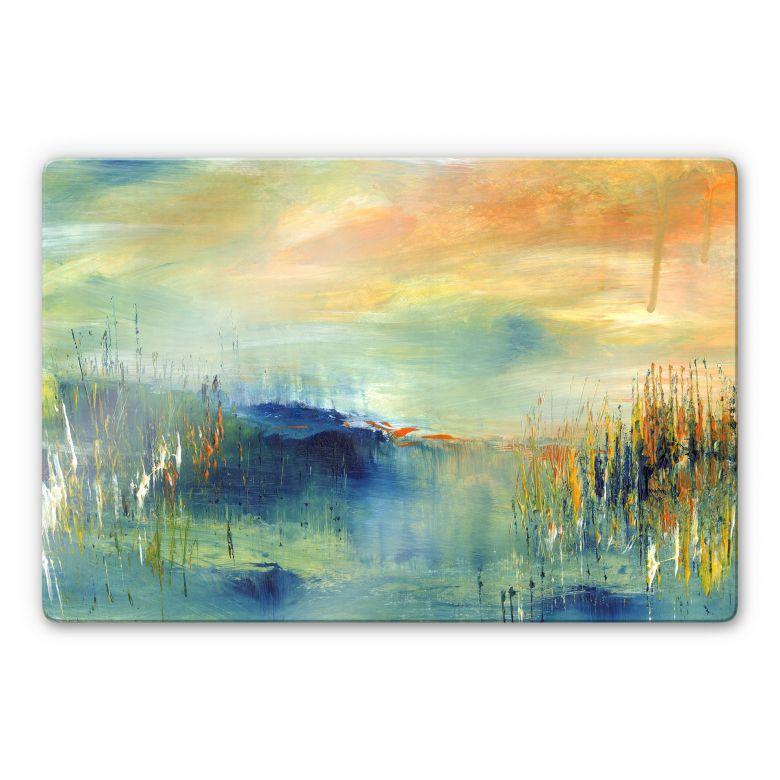 Glasbild Niksic - Landscape 03