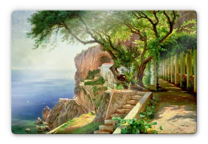 Glasbild Aargaard - Amalfi