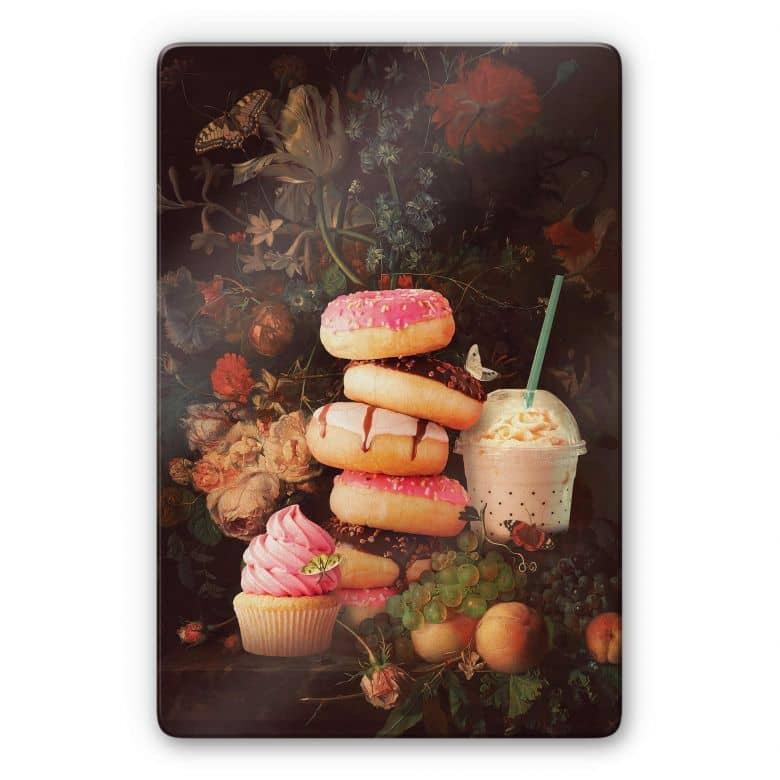 Glasbild Loose - Sweet Bouquet