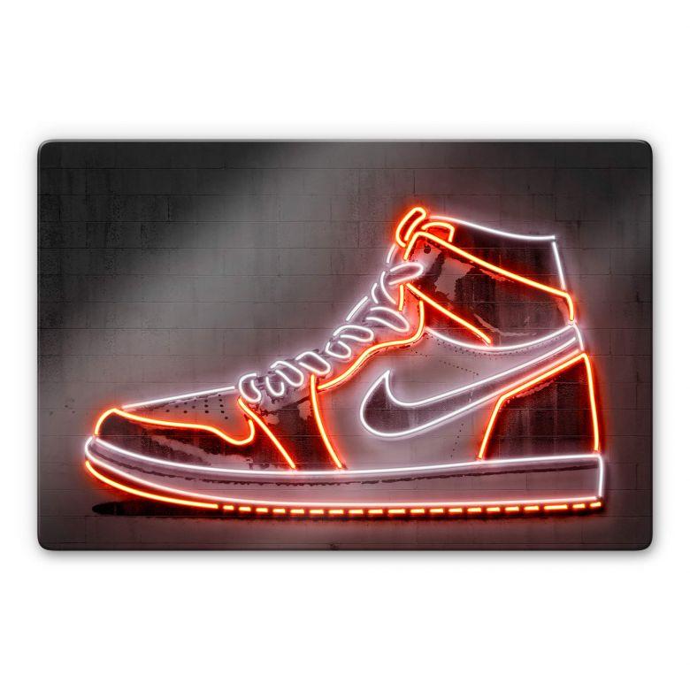 Glasbild Mielu - Sneaker