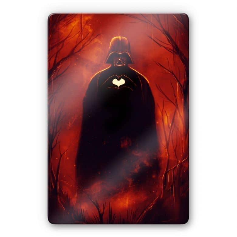 Glasbild Nicebleed - Heart Vader