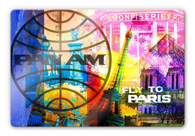 Glasbild  PAN AM - Paris