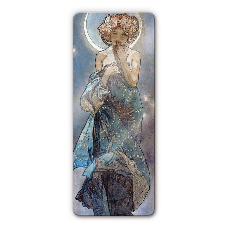 Mucha - The Moon and the Stars: The Moon Glass art