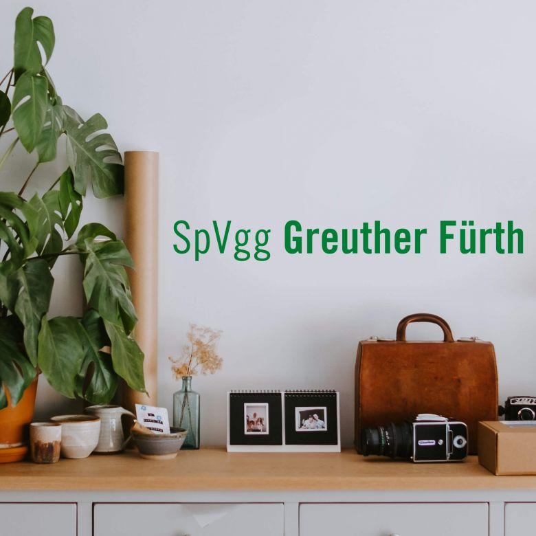 Wandtattoo SpVgg Greuther Fürth Schriftzug
