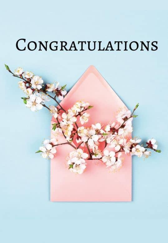 Gutschein Congratulations