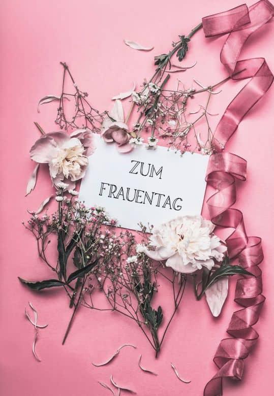 Gutschein Frauentag - rosé