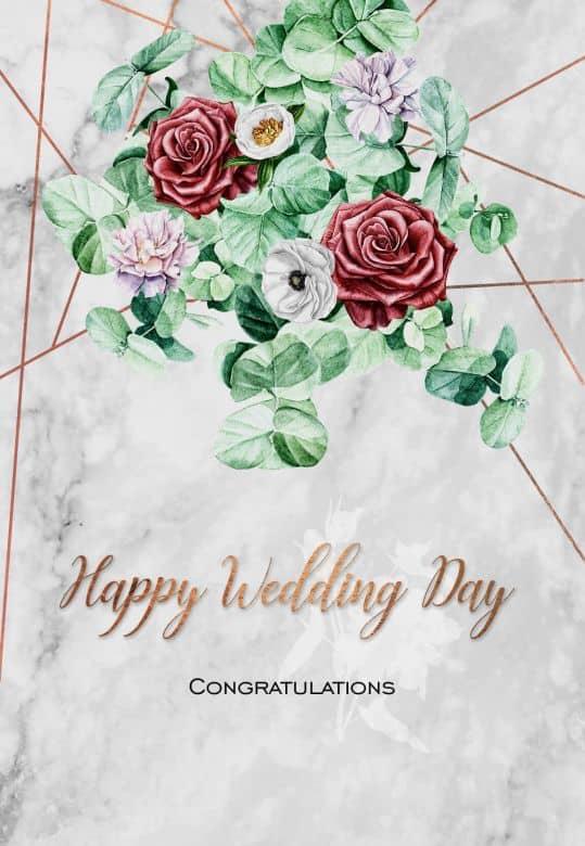 Cadeaubon Happy Wedding Day