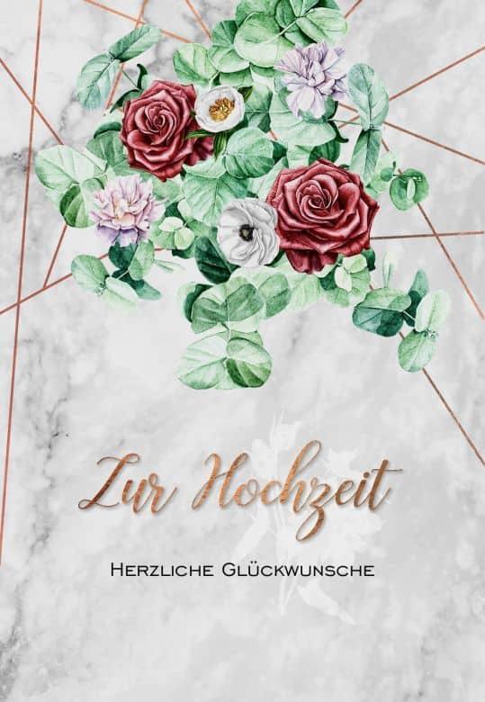 Gutschein Hochzeit Bouquet