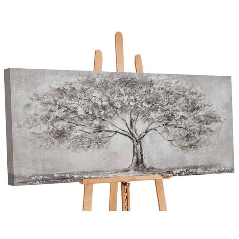 Acryl Gemälde handgemalt Lebensbaum 120x60 cm