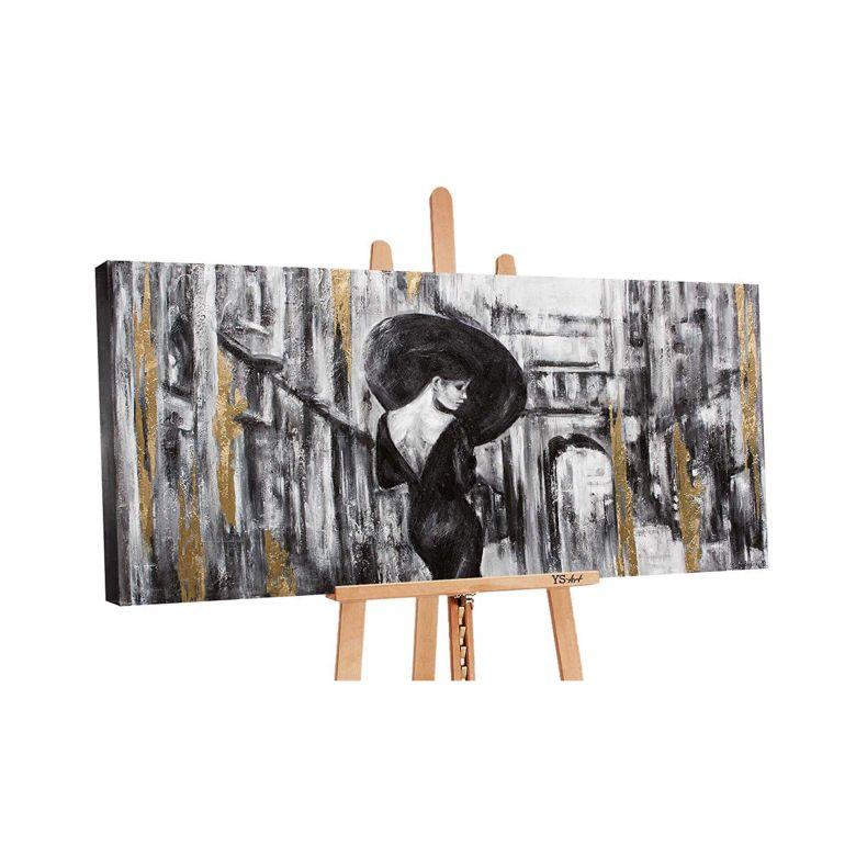 Acryl Gemälde handgemalt Filmstreifen 140x70 cm